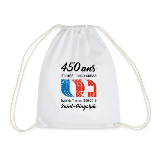 Logo 450 ans d'amitié franco-suisse Saint-Gingolph - Sac de sport léger