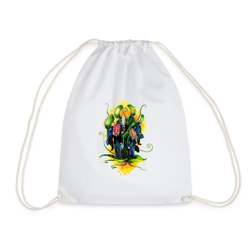 plant workers - Drawstring Bag