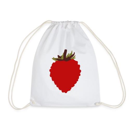 Wild Strawberry - Drawstring Bag