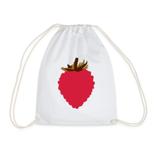 Wild Strawberry - Drawstring Bag