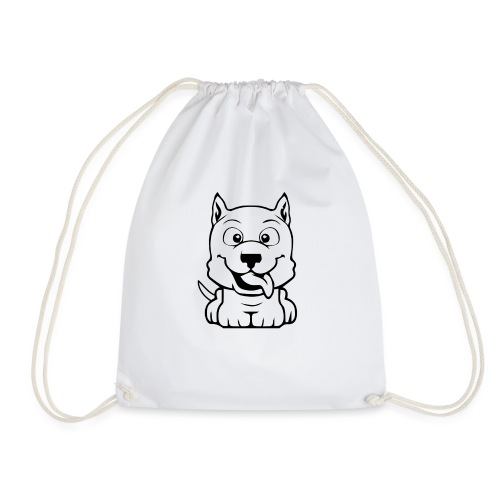 dog cartoon bully - Sac de sport léger