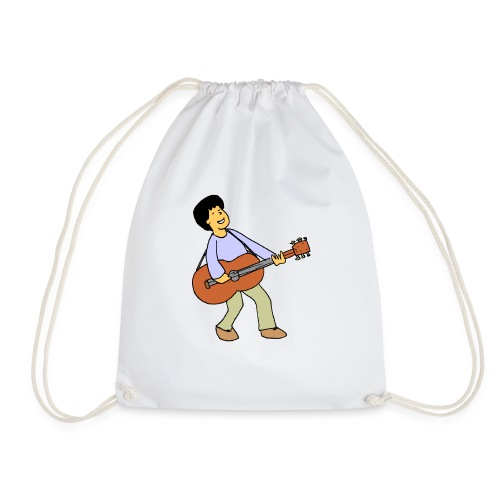 play music - Drawstring Bag