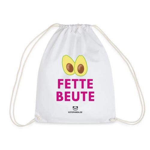 Fette Beute (hell) - Turnbeutel
