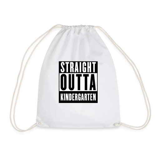 STRAIGHT OUTTA KINDERGARTEN SCHULKIND 2020 - Turnbeutel