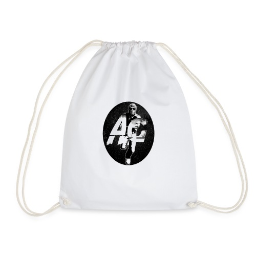 AGNITIO ROUND LOGO - Drawstring Bag