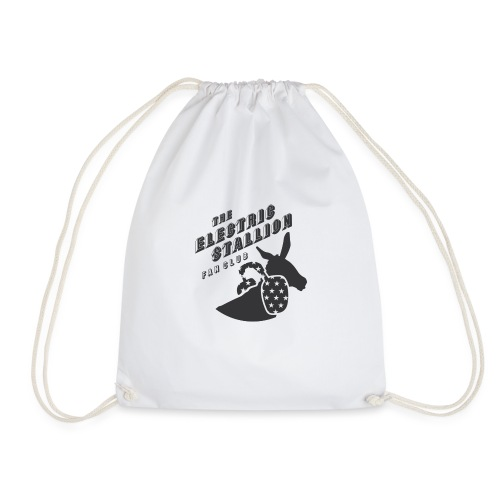 stallion badges - Drawstring Bag