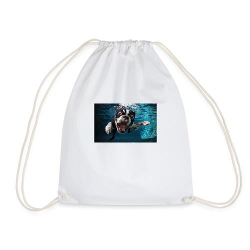 Svømmende hund - Gymbag