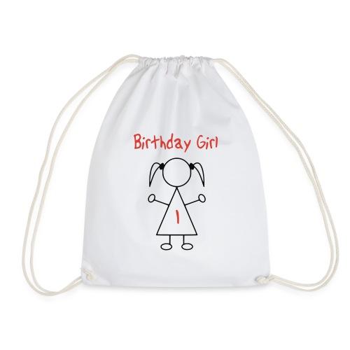 Birthday Girl 1 Jaar - Gymtas