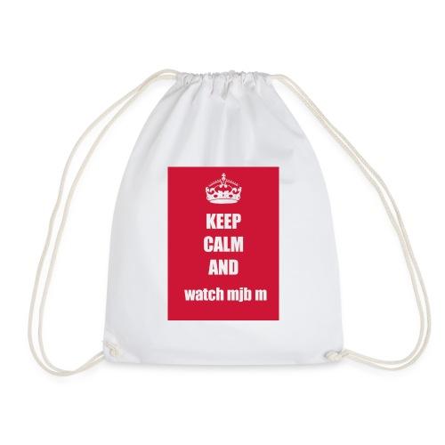 Keep calm watch mjb m - Drawstring Bag