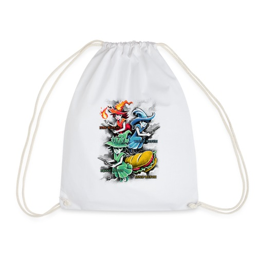 Types of Witches - Drawstring Bag