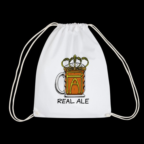 Real Ale - Drawstring Bag