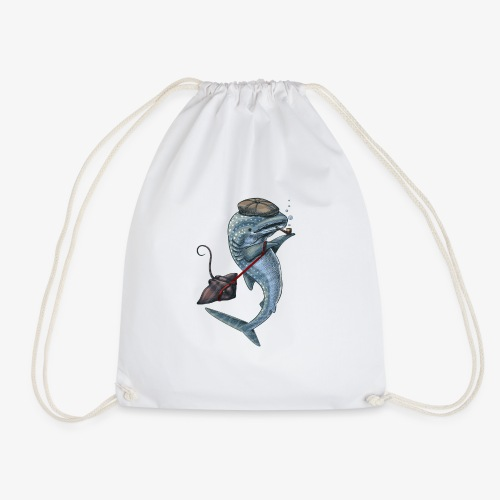 Whale Shark - Drawstring Bag
