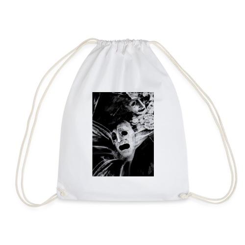 WDTS macambre print - Drawstring Bag