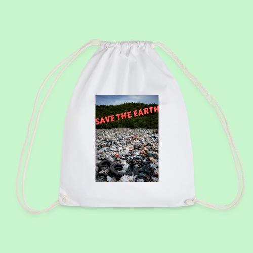 save the earth - Sac de sport léger