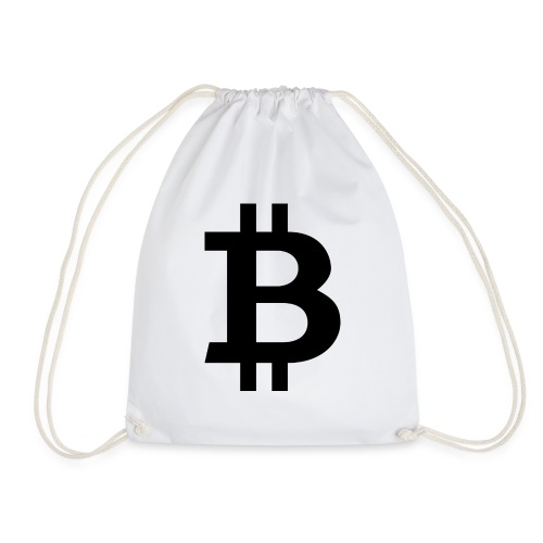 Bitcoin black - Gymnastikpåse