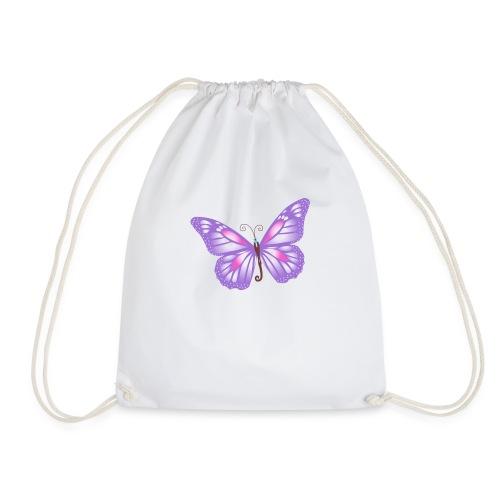 mariposa bb lila - Mochila saco