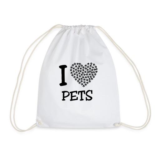 I LOVE PETS - Mochila saco
