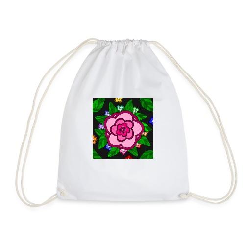 Flower Power - Turnbeutel