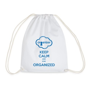 Keep calm and stay ORGanized - Drawstring Bag