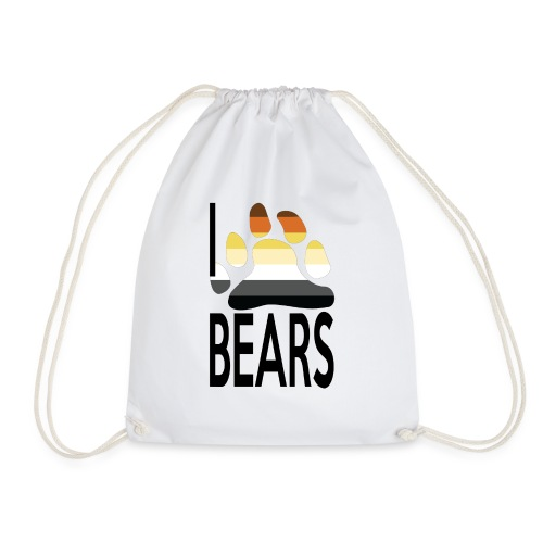 I love bears - Sac de sport léger