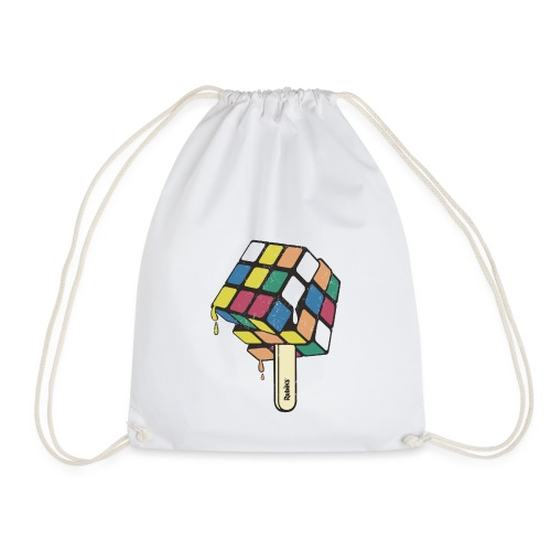 Rubik's Cube Ice Lolly - Drawstring Bag