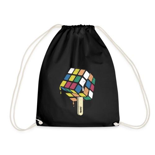 Rubik's Cube Ice Lolly - Drawstring Bag