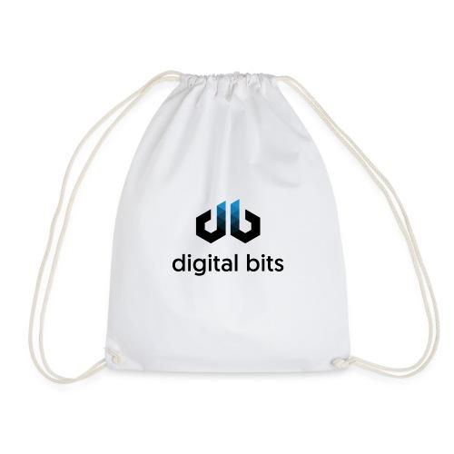 digitalbits Logo mit Schriftzug - Turnbeutel