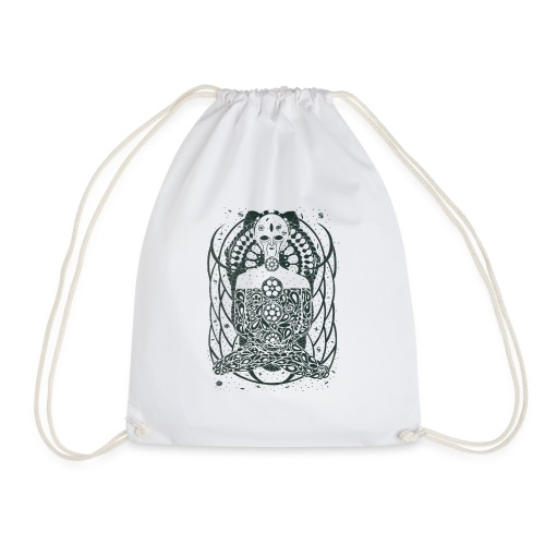 Alienbuddha - Drawstring Bag