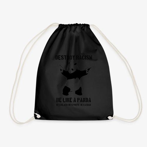 DESTROY RACISM - Drawstring Bag