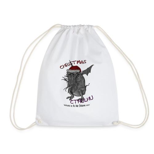 ChristmasCthulhu - Drawstring Bag