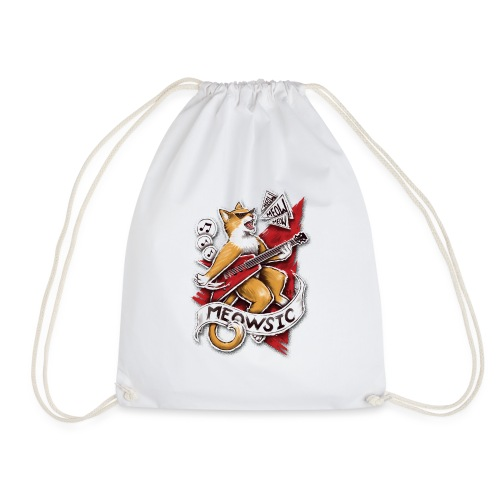 Meowsic - Drawstring Bag