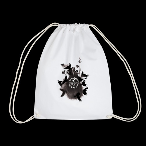 Morrigan final t shirt logo - Drawstring Bag