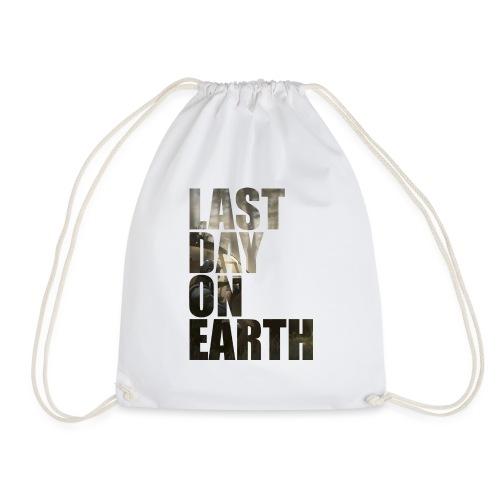 Último día en la tierra - Mochila saco