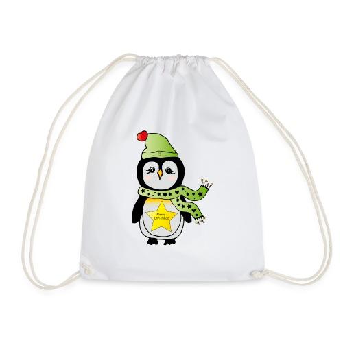 Christmas Pinguin - Turnbeutel