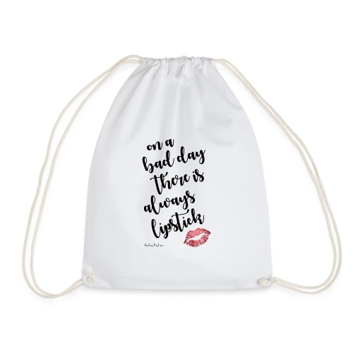 Audrey Hepburn Quote - Drawstring Bag