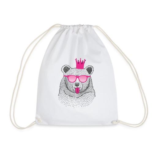 BABO pink Bär - Turnbeutel