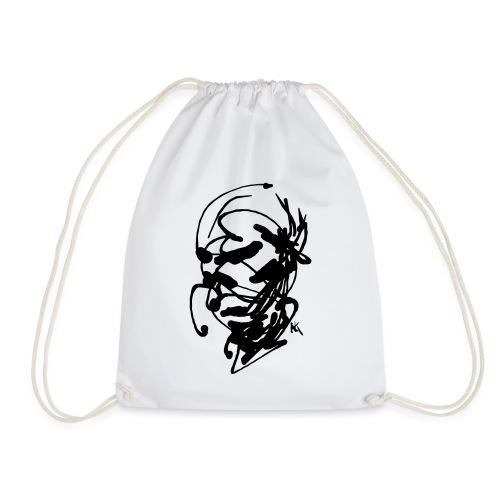 face - Drawstring Bag