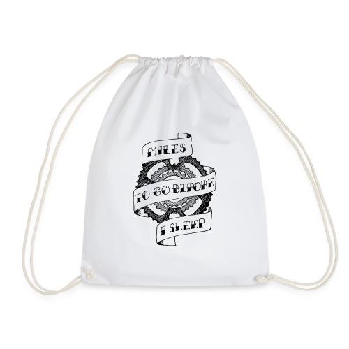 Miles to go - Drawstring Bag