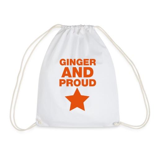Ginger And Proud Star - Drawstring Bag
