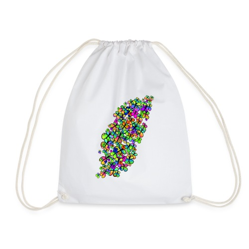 Colorful butterflies - Sac de sport léger