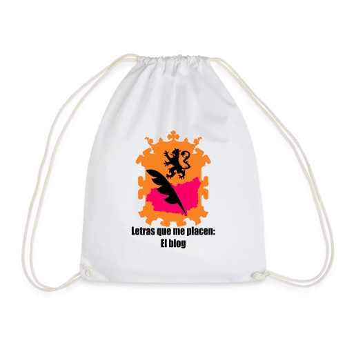 LQMP_escudo_naranja - Mochila saco