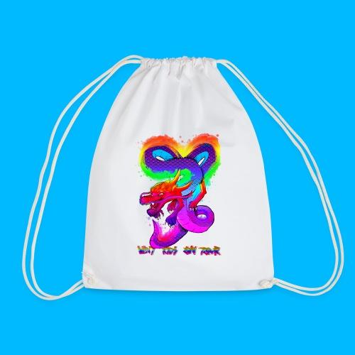 Wavy Kids On Tour Dragon - Drawstring Bag