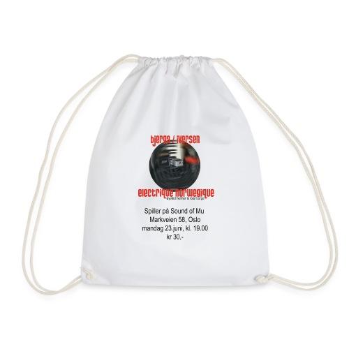 Bjerga / Iversen & Electrique Norwegique - Drawstring Bag