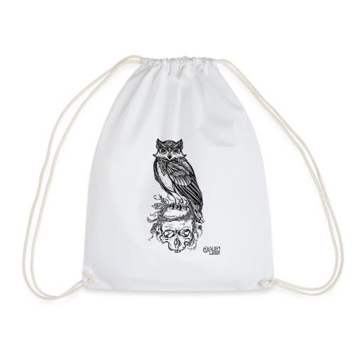 Owl' n Skull - Sacca sportiva