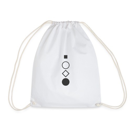 rest open touch stop - Drawstring Bag