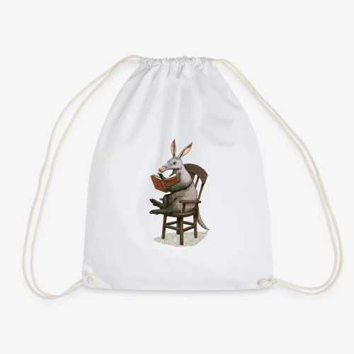 A is for Aardvark - Drawstring Bag