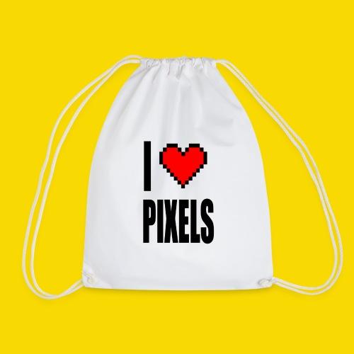 I Love Pixels - Worek gimnastyczny