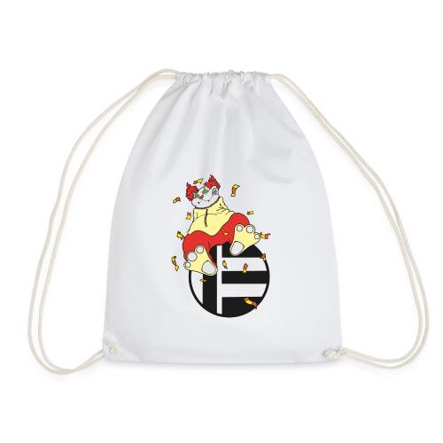 Katze Clown - Turnbeutel