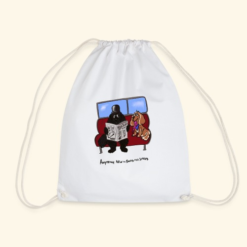 Socks and shares - Drawstring Bag