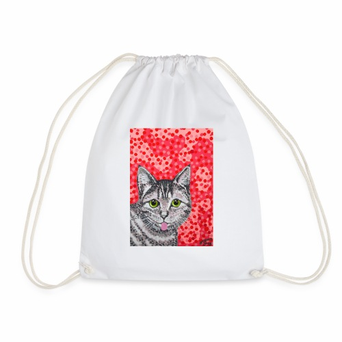 The Finnish Cat - Drawstring Bag